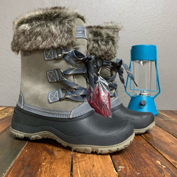 3d04ada2d86e Khombu women s slope snow boots Costco new!